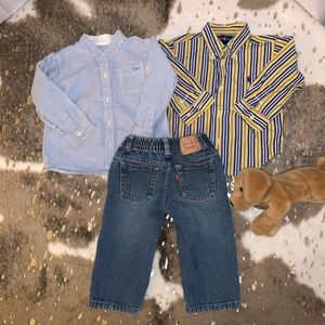 Boys Bundle Levis, Ralph Lauren, Sfera 18M